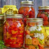 Осенний урожай! Домашние заготовки. Способы длительного хранения продуктов